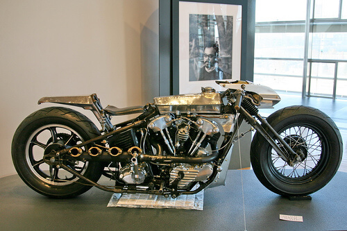 Enigmatic custom motorcycle builder and artist- Shinya Kimura