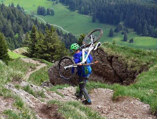 Get Insane Workout from Downhill Mountain Biking