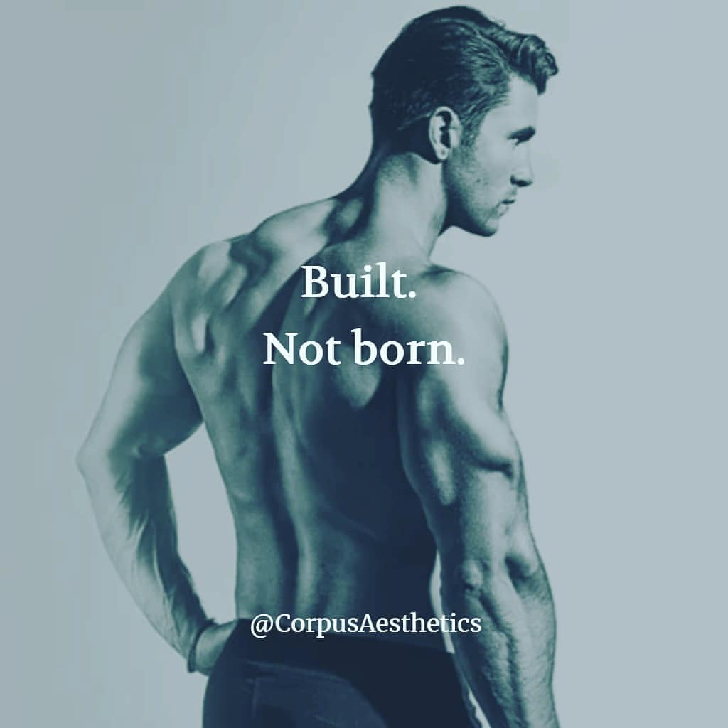 bodybuilder motivational photo